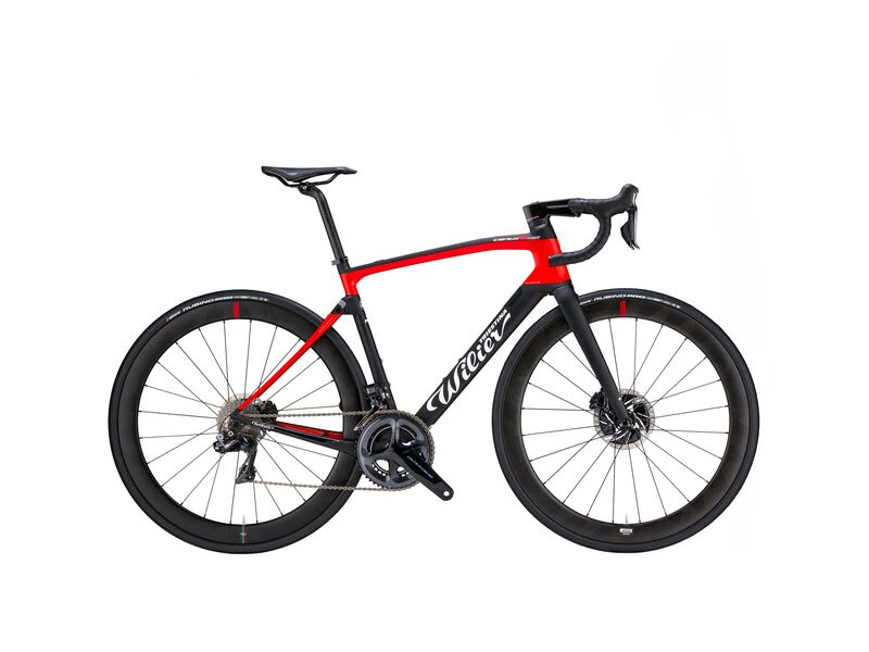 WILIER FRAMESET CENTO 10 NDR DISC BLACK RED click to zoom image
