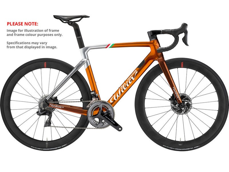 WILIER Cento10 PRO Disc Ultegra  Fulcrum Racing 500 Ramato click to zoom image