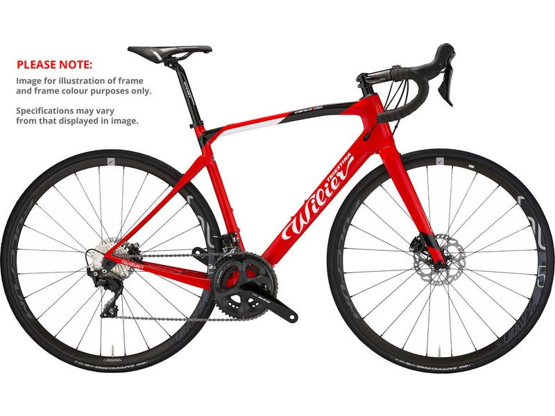 WILIER Cento1 NDR 105 Fulcrum Racing 500 click to zoom image