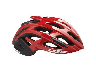 LAZER Blade+ Helmet, Red/Black click to zoom image