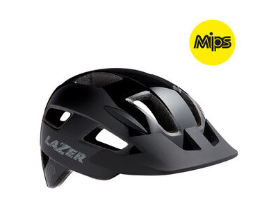 LAZER Gekko MIPS Helmet, Black, Uni-Youth
