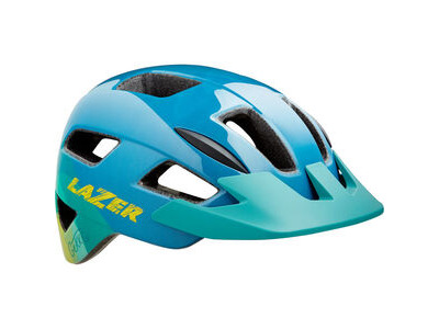 LAZER Gekko Helmet, Blue/Yellow, Uni-Youth
