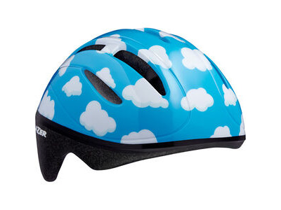 LAZER Bob Helmet, Clouds, Uni-Kids Blue / White