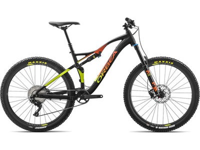 ORBEA Occam AM H30 S Black/Orange/Pistacio  click to zoom image