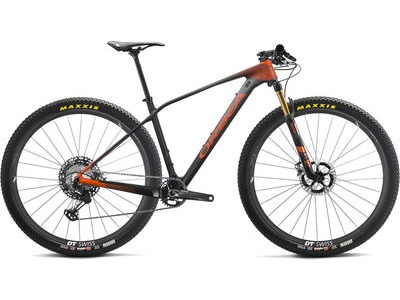 ORBEA Alma 27 M-Team S Black/Anthracite/Orange  click to zoom image