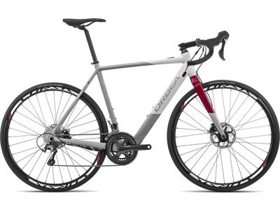 ORBEA Gain D40 XS Grey/White/Red  click to zoom image