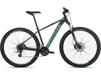 ORBEA MX 29 50 M Black/Turqoise/Red  click to zoom image
