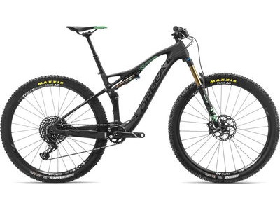 ORBEA Occam TR M10 S Black/Green  click to zoom image