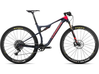 ORBEA OIZ 27 M10 S Blue/Red  click to zoom image