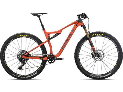 ORBEA OIZ 27 M10-TR S Orange/Black  click to zoom image