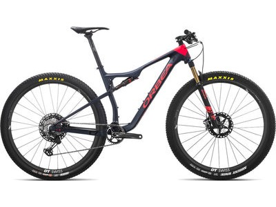ORBEA OIZ 27 M-Team S Blue/Red  click to zoom image