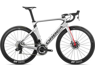 ORBEA Orca Aero M11eTeam-D 47 Silver/Red  click to zoom image