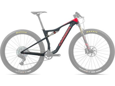 ORBEA Oiz 27 OMR+IL DPS R+K S Blue/Red  click to zoom image