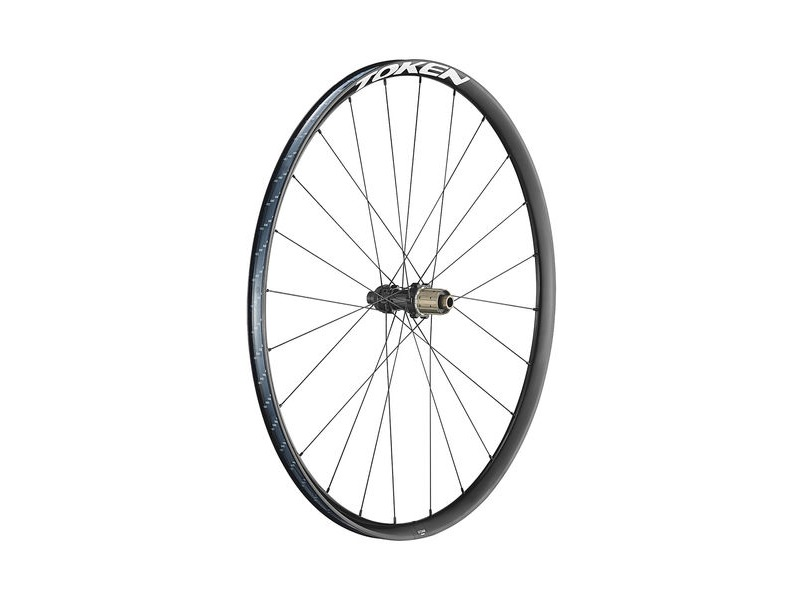 TOKEN G23 Black 700C Gravel Wheelset click to zoom image