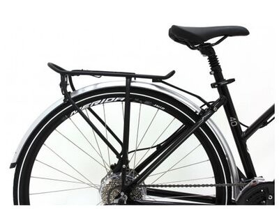 MERIDA Silver Mudguard SET and Pannier Rack for All Crossways