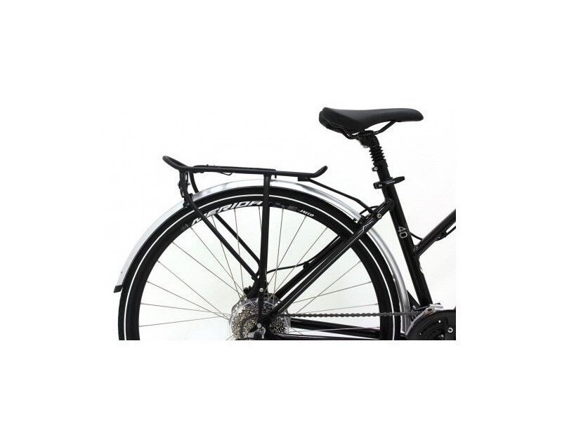 MERIDA Silver Mudguard and Pannier Rack SET for All Crossways click to zoom image
