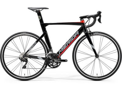 MERIDA Reacto 400 (XS) 47cm Gloss Black/Red  click to zoom image