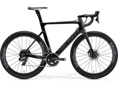 MERIDA Reacto Disc Force Edition (S/M) 52cm Black/Glitter Silver  click to zoom image