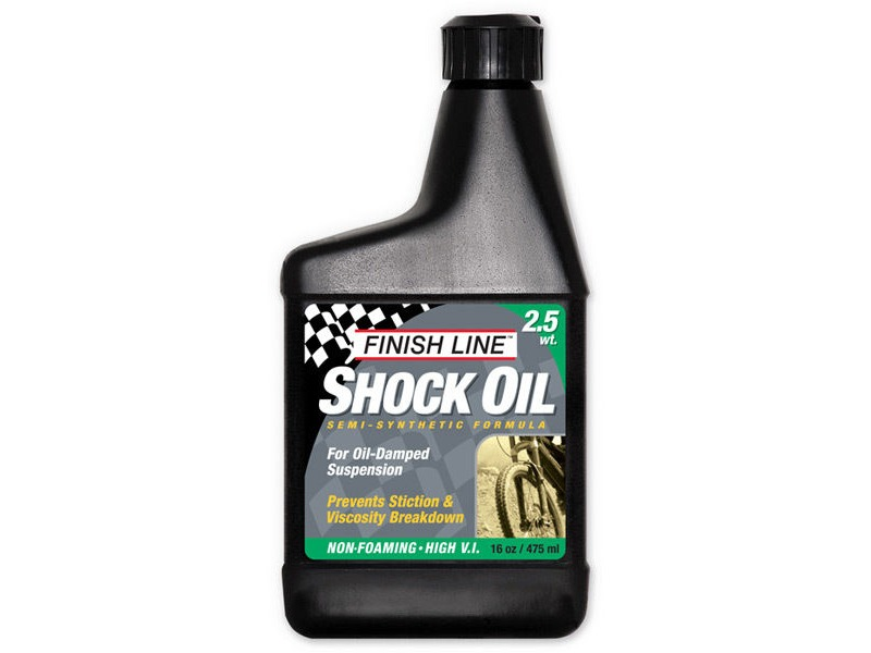 FINISH LINE Shock oil 2.5wt 16oz/475ml click to zoom image