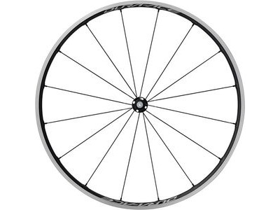 SHIMANO WH-R9100-C24-CL Dura-Ace wheel, Carbon laminate clincher 21mm, front Q/R