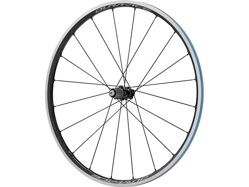 SHIMANO WH-R9100-C24-CL Dura-Ace wheel, Carbon laminate clincher 24mm, rear Q/R click to zoom image