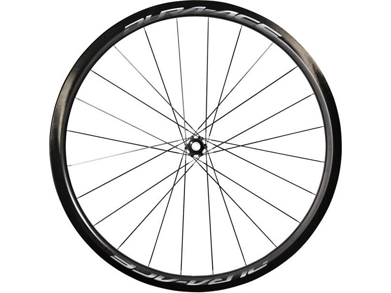 SHIMANO WH-R9170-C40-TL Dura-Ace disc wheel, Carbon clincher 40mm, pair 12mm E-thru click to zoom image
