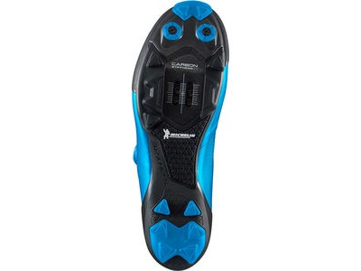 SHIMANO S-PHYRE XC9 (XC901) SPD Shoes, Blue click to zoom image