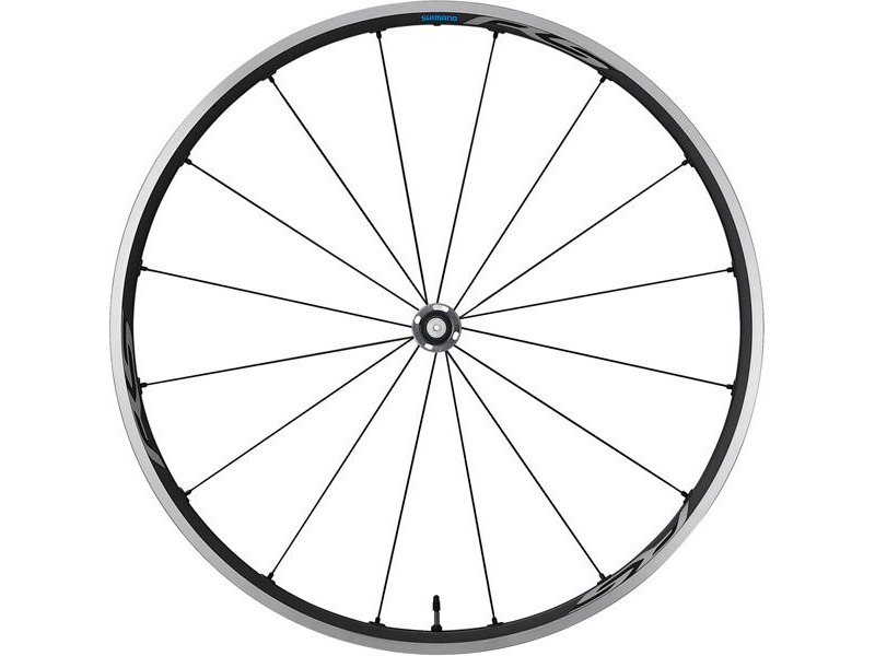 SHIMANO RS500-TL Tubeless compatible clincher, front 100mm Q/R, grey click to zoom image