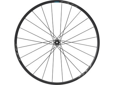 SHIMANO WH-RS370 tubeless compatible clincher wheel, 12 x 100 mm thru axle, front, black