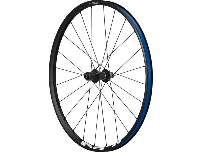 SHIMANO WH-MT500 MTB wheel, 29er, 12 x 148mm boost E-thru, rear, black click to zoom image