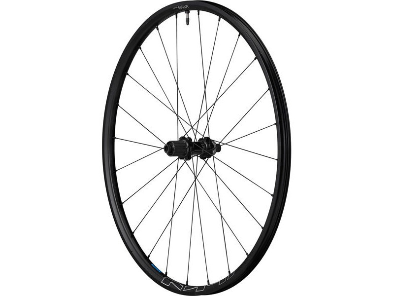 SHIMANO WH-MT600 tubeless compatible wheel, 29er, 12 x 142 mm axle, rear, black click to zoom image