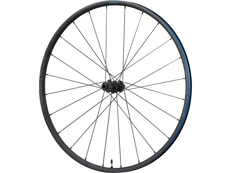 SHIMANO WHRX570R1265H-RX570 650b wheel, 11/10-speed, 12x142mm E-thru, Center Lock disc, click to zoom image