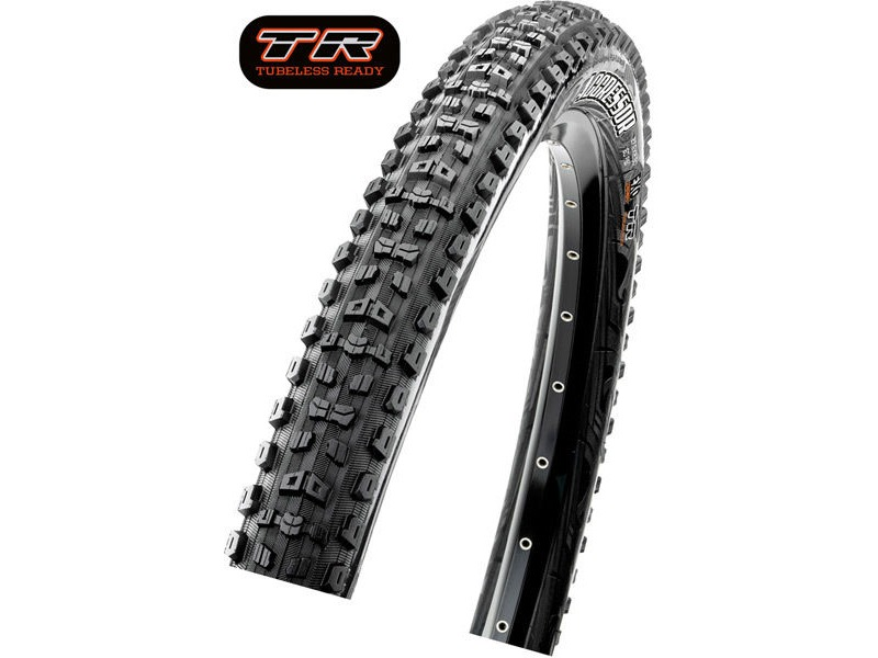 MAXXIS Aggressor 27.5x2.30 120TPI Folding Dual Compound TR / DD click to zoom image