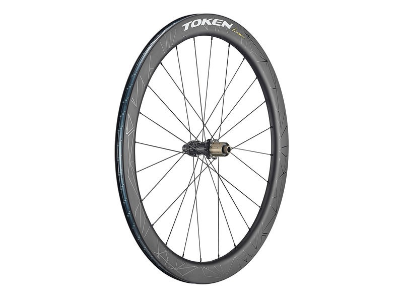 TOKEN Konax Pro Disc 52mm Wheelset HG click to zoom image