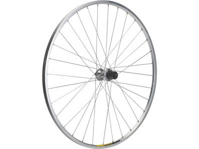 M PART Shimano R400/Mavic Open Elite silver/DT Swiss P/G rear wheel