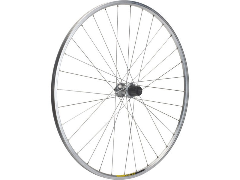 M PART Shimano R400/Mavic Open Elite silver/DT Swiss P/G rear wheel click to zoom image