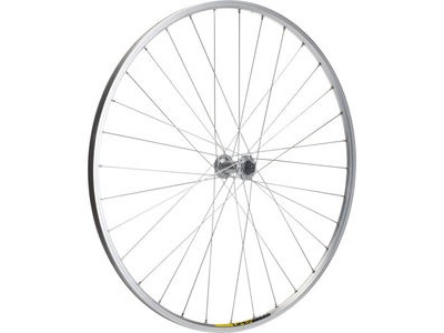 M PART Shimano R400/Mavic Open Elite silver/DT Swiss P/G front wheel