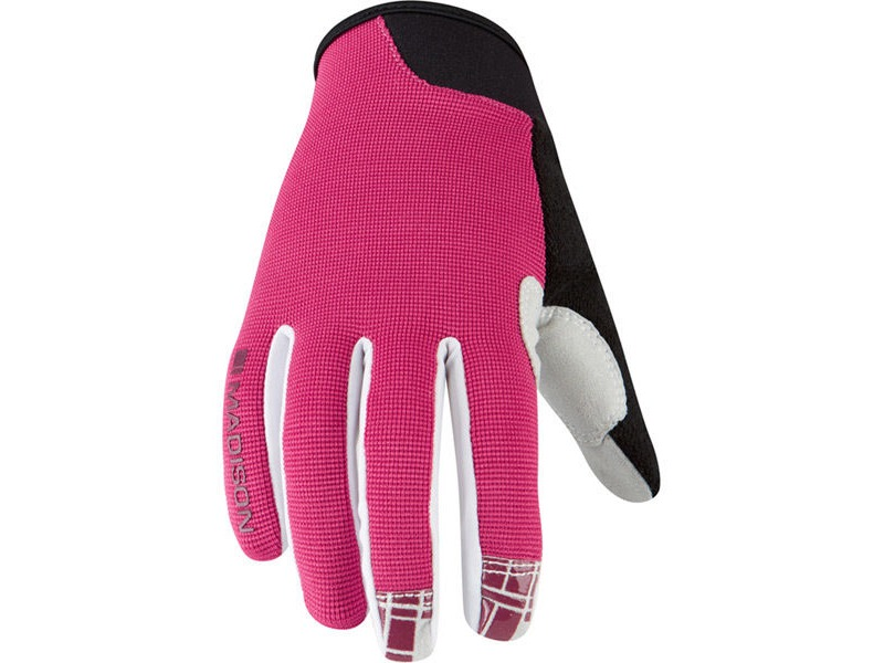 MADISON Leia women's gloves, rose red click to zoom image