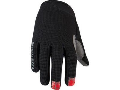 MADISON Trail youth gloves, black