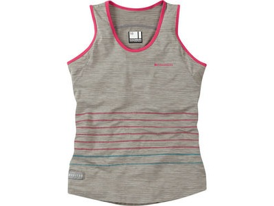 MADISON Leia women's sleeveless jersey, silver grey