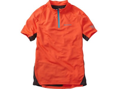 MADISON Trail youth short sleeved jersey, chilli red