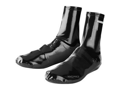 MADISON RoadRace PU Lycra aero overshoes, black