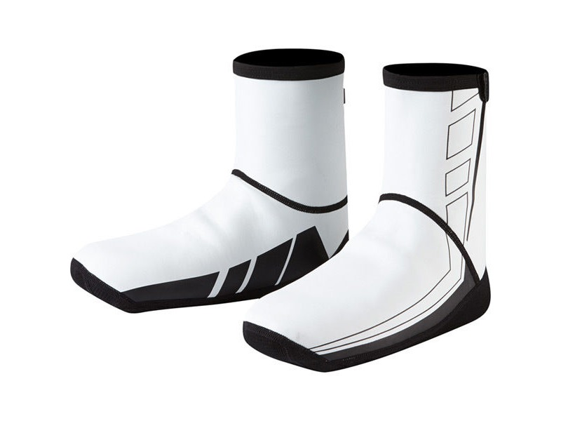 MADISON Element Neoprene Open Sole overshoes, white click to zoom image