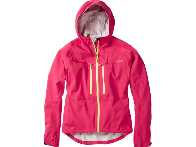 MADISON Zena women's waterproof jacket, rose red click to zoom image