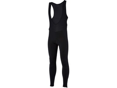 MADISON Stellar men's bib tights with pad, black