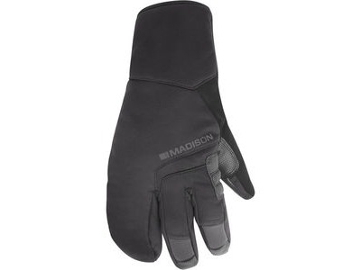 MADISON Apex Gauntlet men's waterproof gloves, black
