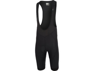 MADISON Turbo men's bib shorts, black