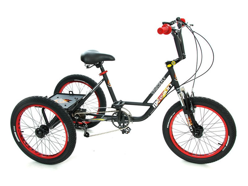 "MISSION Mx 20"" Bmx trike click to zoom image"