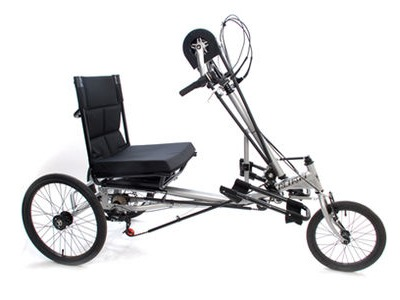 MISSION Rehatri Semi Recumbent Hand Cycle