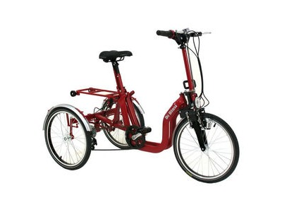 MISSION Di Blasi R32 Std Folding Trike  Red  click to zoom image